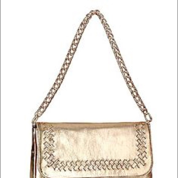 anthony melany Handbags - Natural leather gold color